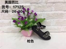 镶钻女童鞋